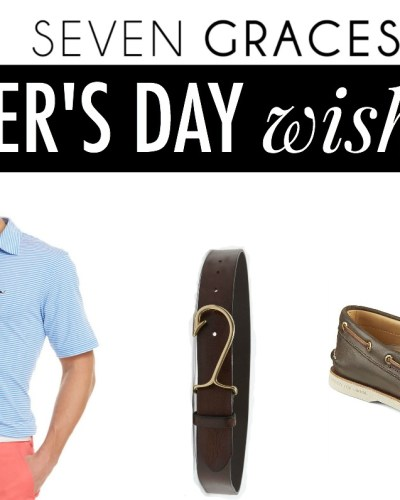 Father's Day Wish List 2016