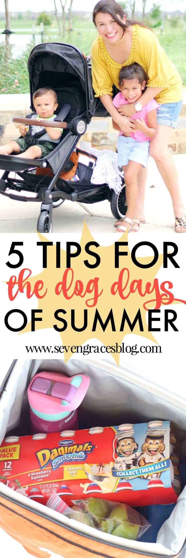5 Tips for the Dog Days of Summer: What you need to get you through the last stretch of summer days with kids.