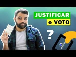 Como justificar o voto? Eleições 2018