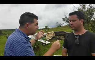 Aeronave experimental cai e mata cinco pessoas em Patos-MG