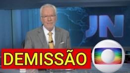Demissão: Apresentador dá adeus e deixa a Globo dias após polêmica na internet.
