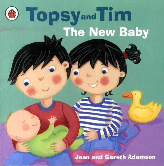 New Baby (Topsy and Tim) by Jean Adamson