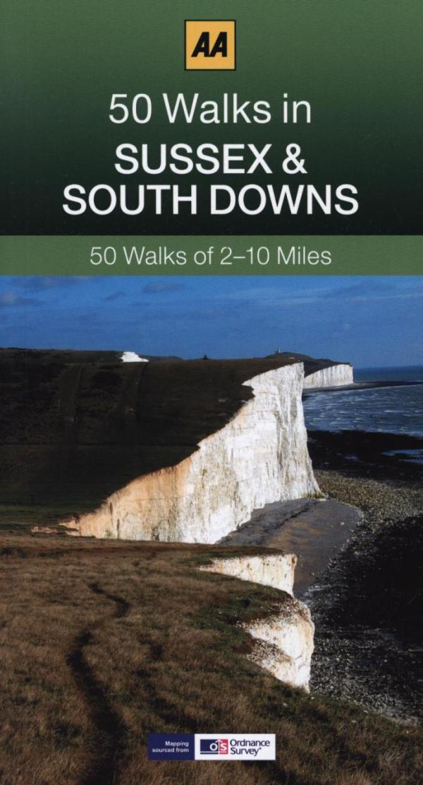 50 Walks in Sussex by