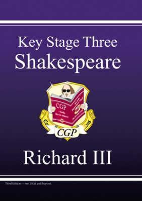 "KS3 English Shakespeare Text Guide Richard III"" by Richard Parsons"""