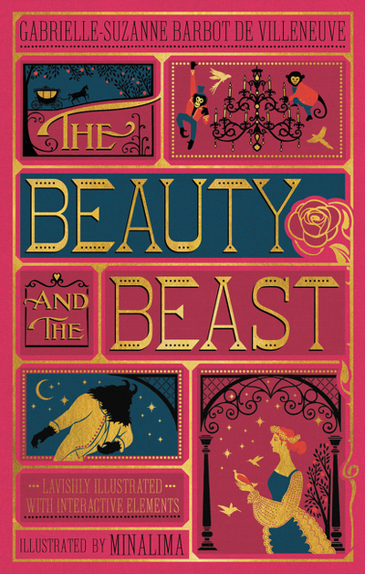 The Beauty and the Beast (Illustrated with Interactive Elements) by Gabrielle-Suzan Villenueve