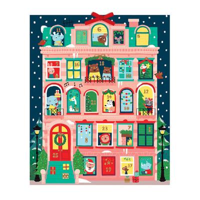 Christmas Apartment Advent Calendar by  Galison