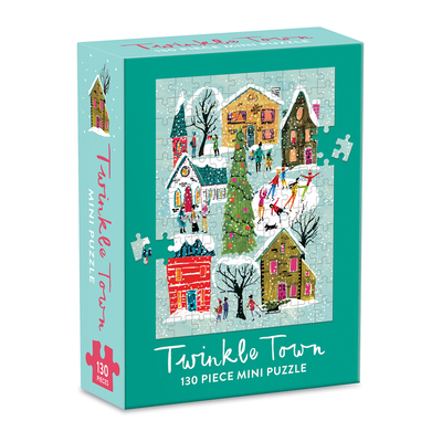 Twinkle Town Mini Puzzle by  Galison