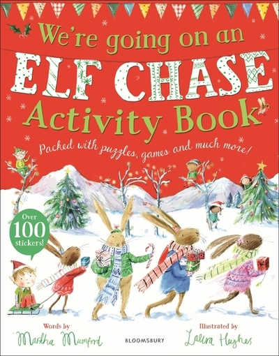 We're Going on an Elf Chase Activity Book by Martha Mumford