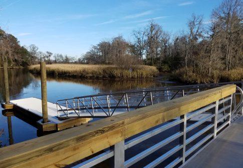 Samworth WMA Courtesy Dock
