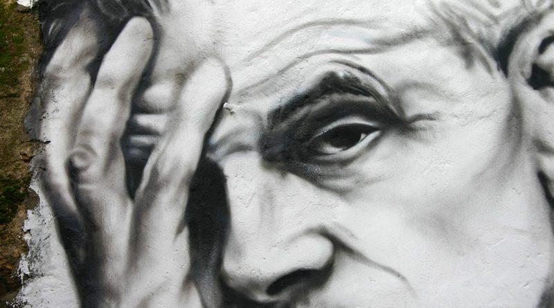 Aldous Huxley artistic depiction