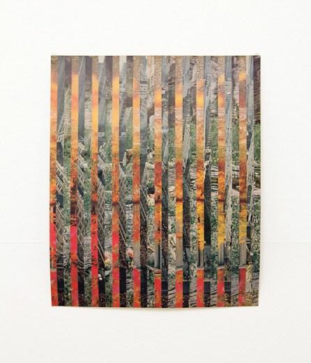 Damien Roach, Weave Series Collage #13