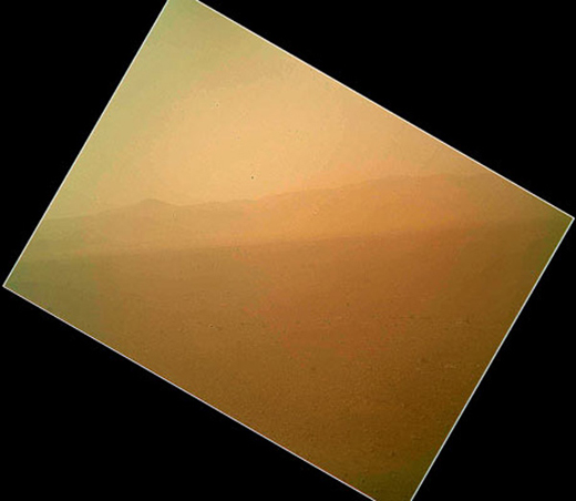 mars curiosity color