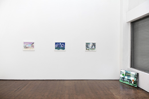 David Blandy Installation View 2