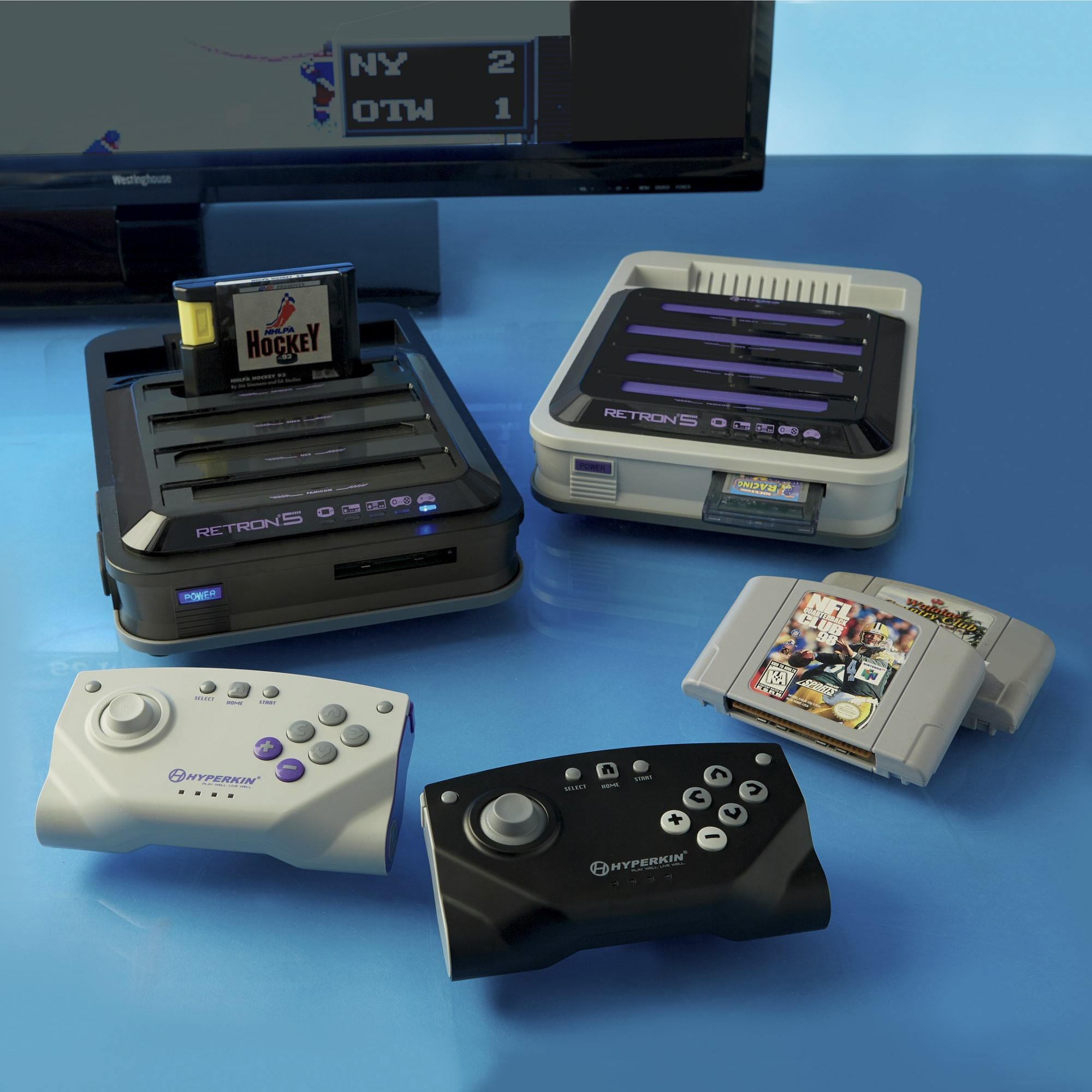 RetroN 5 Gaming System By Hyperkin Seventh Avenue