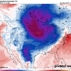 Powerful Arctic cold outbreak across much of the United States this week