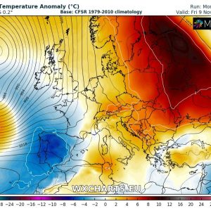 Weekly pattern across Europe overview – unusually warm weather continues (Nov 5 – 12th)