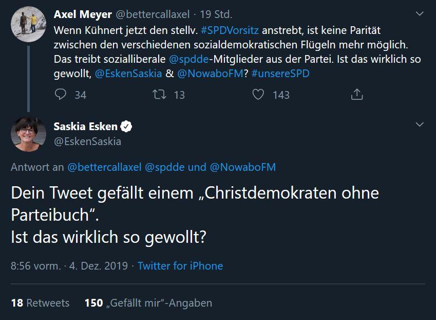 Esken Twitter