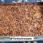 Käsekuchen mit Kakao Teig