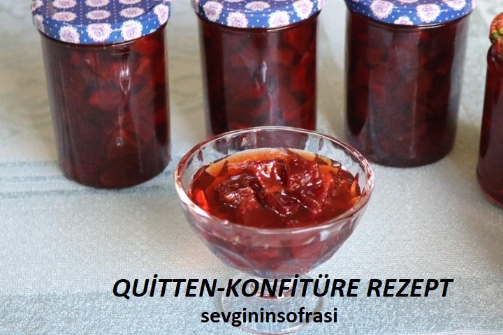 Quitten-Konfitüre Rezept
