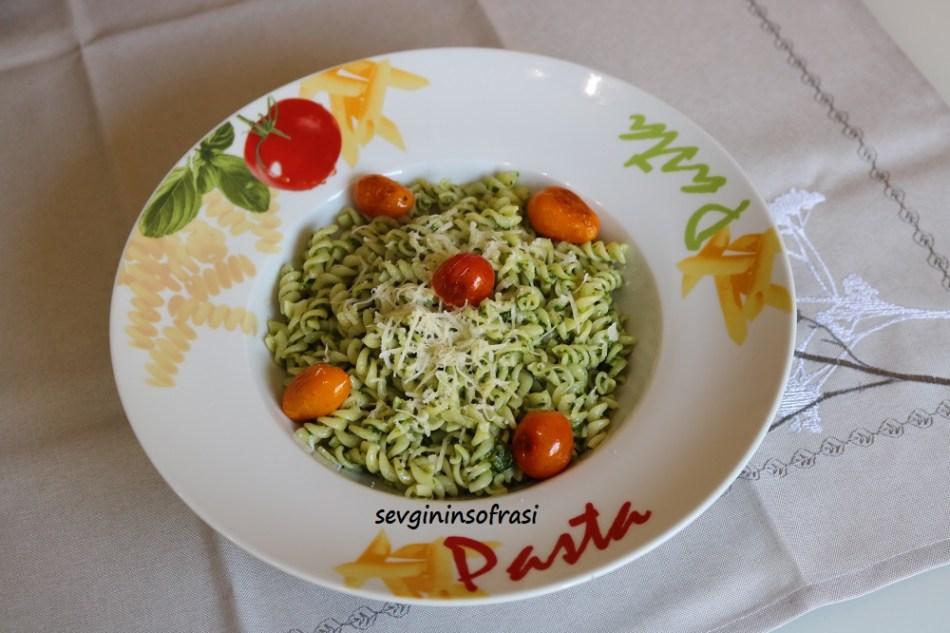 Pesto Sos Yapımı & Pesto Soslu Makarna