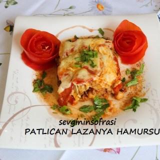 Patlıcan Lazanya (Hamursuz)