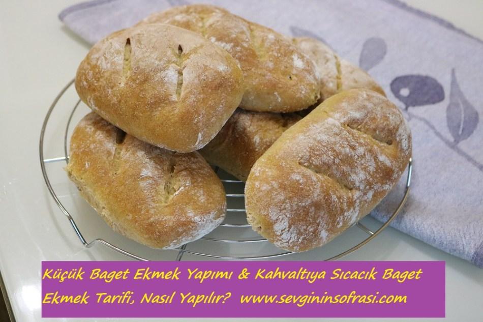 Küçük Baget Ekmek Yapımı
