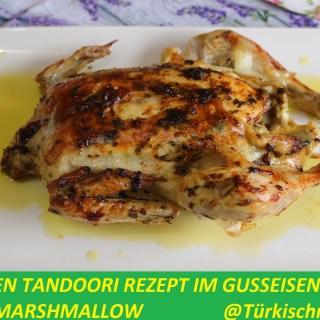 Hähnchen Tandoori Rezept im Gusseisentopf