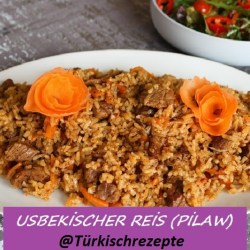 Usbekischer Reis (Pilaw)