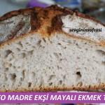 Lievito Madre Ekşi Mayasıyla Ekmek Tarifi