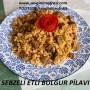Sebzeli Etli Bulgur Pilavı