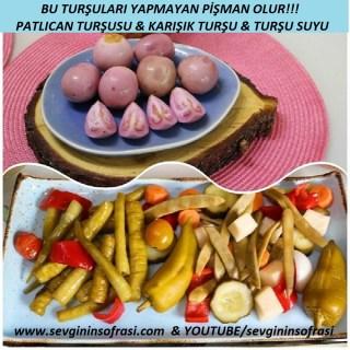 Patlıcan Turşusu&Karışık Turşu