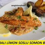 Kremalı Limon Soslu Somon Balığı