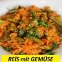 Reis mit Gemüse
