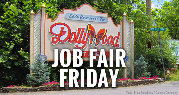 Dollywood Job Fair on Friday