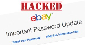 eBay alerts users to security breach.