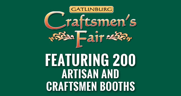 Enjoy unique crafts and music at the Gatlinburg Craftmen's Fair