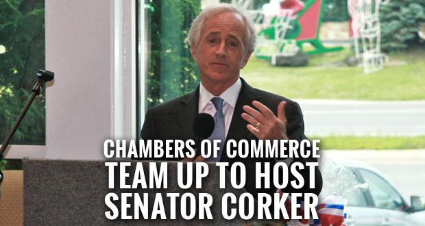 U.S. Senator Bob Corker visits Sevierville.