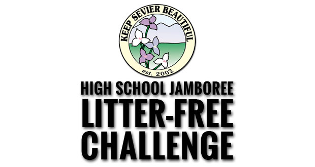 Fans of local high schools compete off the field to reduce litter and promote recycling.