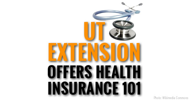 UT Extension offering seminars in Sevier County on the topic of Health Insurance.
