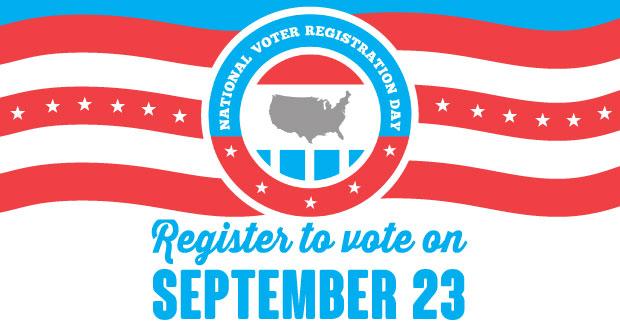 National Voter Registration Day event in Sevier County.
