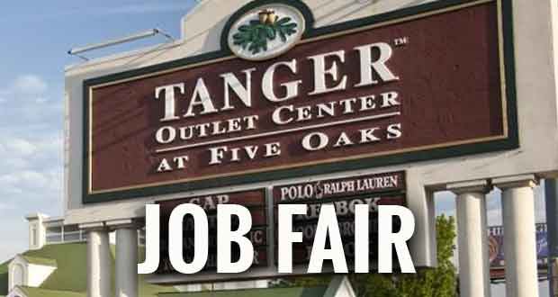 Tanger Outlet in Sevierville Job Fair