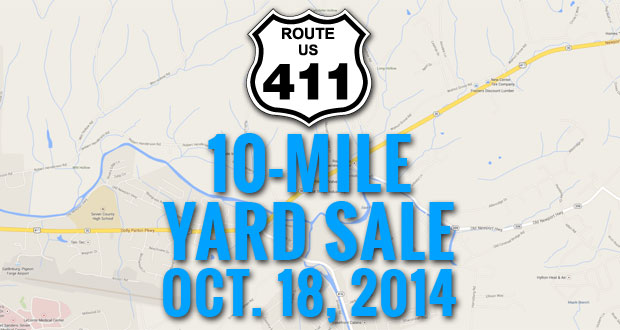 US-411 10-Mile Yard Sale in Sevierville