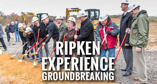 Groundbreaking for Ripken Experience Pigeon Forge