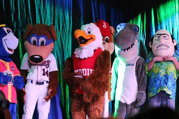 Smoky Mountain Winterfest Mascot Dance Off