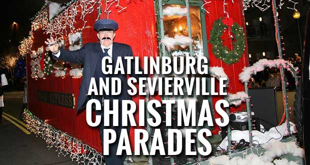 Celebrate the holiday season this weekend in Gatlinburg and Sevierville by attending the festive Christmas parade.