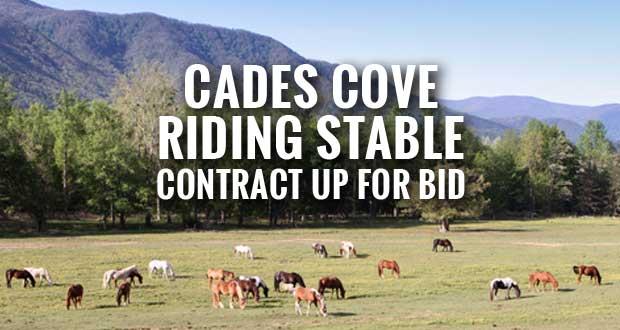 National Park Service Seeks Proposals for Cades Cove Riding Stable Concession