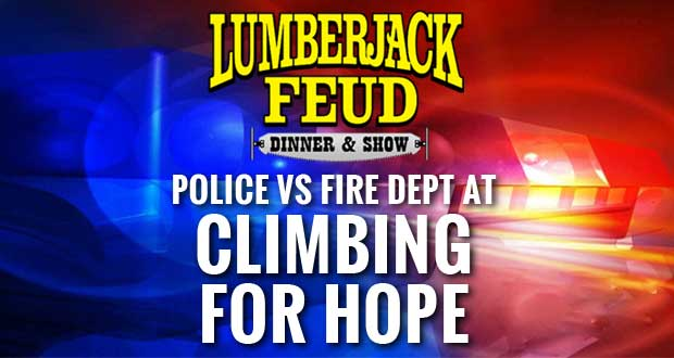 Lumberjack Feud Hosts Climbing for Hope to Benefit Mountain Hope Good Shepherd