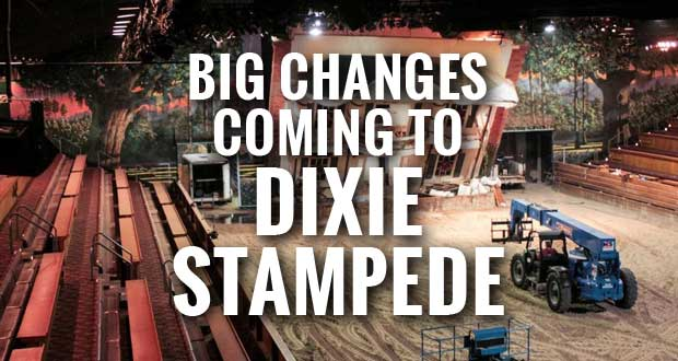 Dolly Parton's Dixie Stampede to unveil new look in 2015