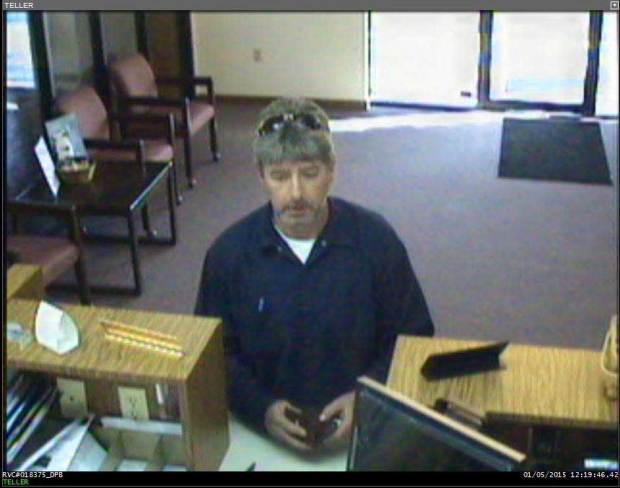 Sevier County Bank Robbery Suspect