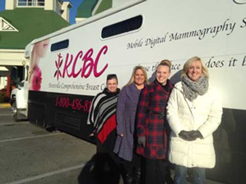 Tanger Outlet Sevierville and Relay For Life Team Up to Offer Free Mammograms